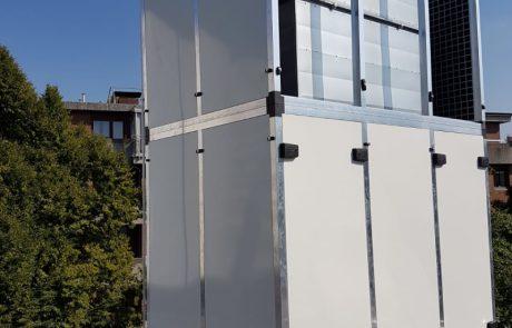 Schalleinhausung für Klimaanlagen